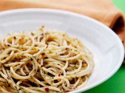 Spaghetti aglio, olio e peperoncino-la-percussi